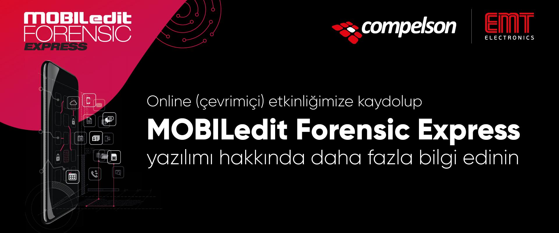 MOBILedit Çevrimiçi Etkinliği